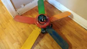 Kids Crayola Ceiling Fan