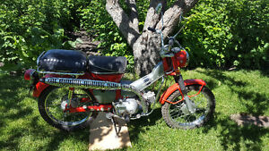 Vintage 1971 Honda CT90 Trail Bike with/out license plates