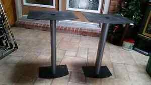 Pair of Bose Metal Bookshelf Speaker Stands