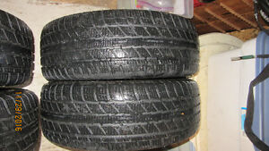 NEW PRICE: 225/55R17 Winter Tires on Steel Rims [4] Gatineau Ottawa / Gatineau Area image 3