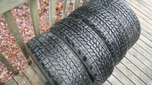 15 in studded tires and rims