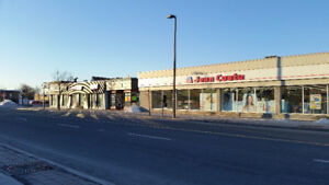 Strip commercial sur chemin Chambly