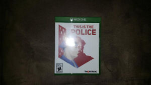 This is the Police for Xbox One Microsoft