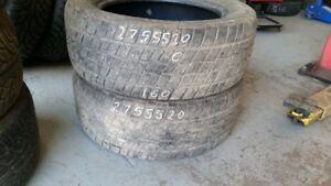 Pair of 2 Cooper Discoverer HT 275/55R20 tires (60% tread life)