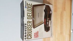 Record Player: Crosley Cruiser Deluxe - brand new in box