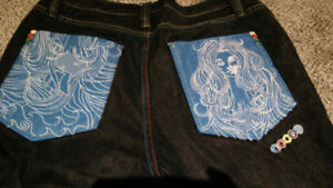 Vintage Coogi Jeans set. 3 pairs. Embroidered pockets.