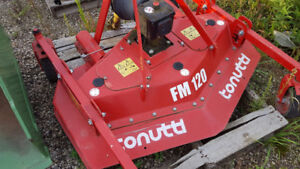 PTO Finishing mower - Tonutti FM120