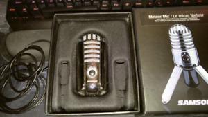 Samson Meteor USB microphone