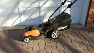 WORX 17 inch 13A Corded 3-in-1 Electric Lawn Mower