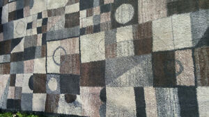 Two matching area rugs