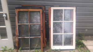 Vintage Window and door removed from cottage in Grandbend