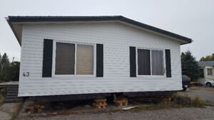 1996 Double Wide Mobile Home - Delivery Included in Alberta