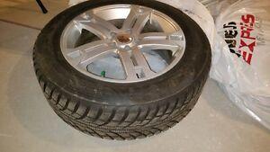 Mercedes: Snow tires on mags / Pneus d'hiver sur mags. West Island Greater Montréal image 2