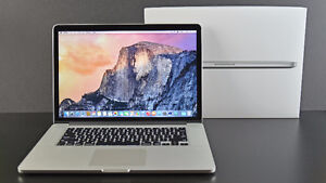 2016 15 INCH RETINA MACBOOK PRO UPGRADED 512GB SSD