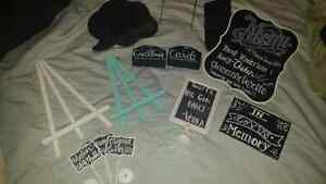 NEW WEDDING DECOR - Signs, Clutch & More!!