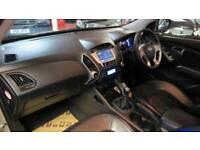 2010 HYUNDAI IX35 2.0 CRDi Premium Pan Roof Sat Nav Rev Cam Full Leather