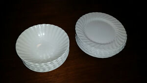 Johnson Bros. Porcelain - Bowls and Plates.