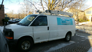 ***** 2004 CHEVY EXPRESS 3500 WITH ONLY 276 KMS *****