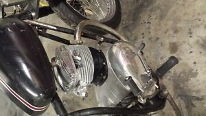 1967 BSA chopper project Cambridge Kitchener Area image 3