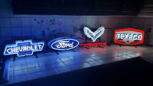 New neon signs