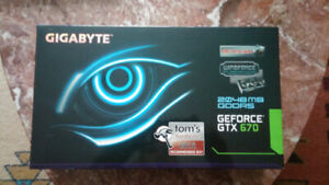 GTX 670 2GB 3x windforce OC version