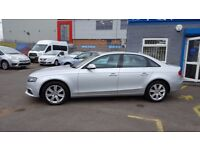 Audi A4 2.0 TDI CR SE 170PS (silver) 2009