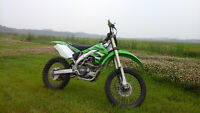 2008 Kawasaki KX450F Dirt Bike, Only 32Hrs, Excellent Condition