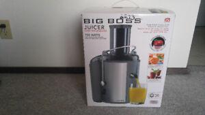 Big Boss juicer