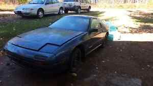 1986 Mazda RX-7  project w/ 2  13B drivetrains