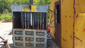 Used Selco Hydraulic Baler