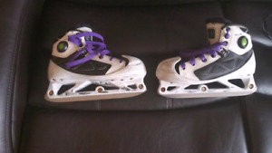 Size 3 Junior Reebok goalie skates