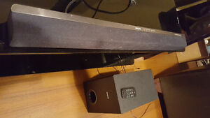 For Sale: Phillips Home Cinema Soundbar with Sub-Woofer & remote