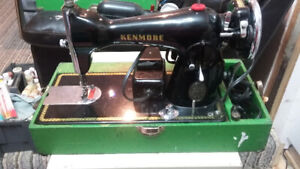 antique/vintage Kenmore sewing machine
