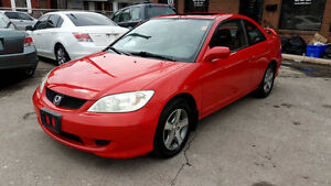 2004 Honda Civic SI Coupe in mint condition only 132,691km