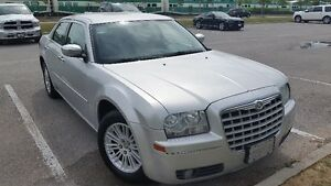 2010 Chrysler 300 Touring with a Set of Snow Tires on Rims