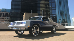 Custom Cutlass Supreme Show Car * 383 Stroker * 4 TV's * 24's **