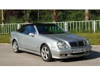 2003 Mercedes-Benz CLK 3.2 CLK320 Avantgarde Cabriolet 2dr