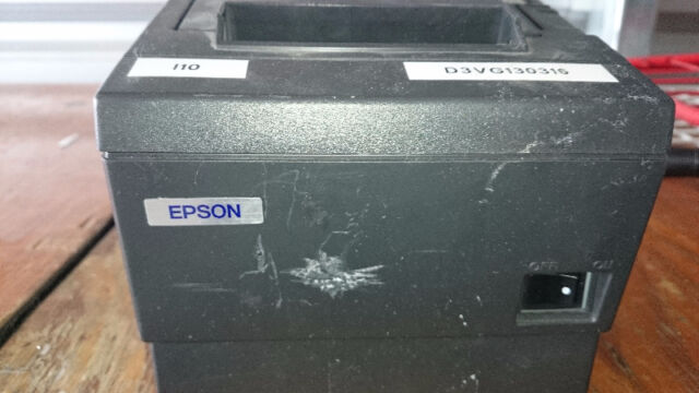 EPSON THERMAL RECEIPT PRINTER 3 WITH AC ADAPTER