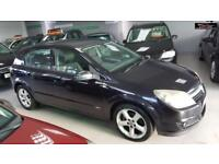 2004 VAUXHALL ASTRA SRI CDTI Black Manual Diesel