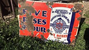 Five Roses Flour Advertising Sign