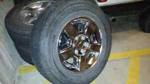265/65/18 tires on rims for sale