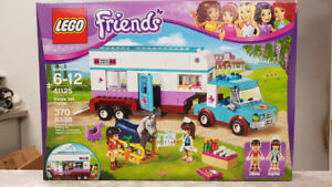 Retired Lego Friends Horse Vet Trailer Building Set - NEW