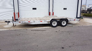 2017 BW TRAIL UTILITY UTILITY AND SKID STEER TRAILER