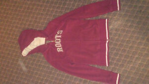 Ladies Roots zip up hoodie