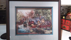 Handcrafted Tolle Art in Custom Frame