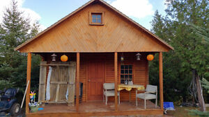 Charming Off Grid Log Cabin Sarnia Sarnia Area image 1