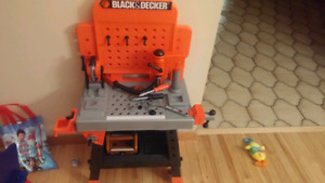 Black and Decker kids work shop