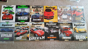 Top Gear and Fitness Magazines
