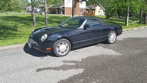 2002 Ford Thunderbird black Coupe (2 door)
