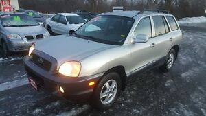 HYUNDIA SANTA FE AWD *** FULLY LOADED SUV *** CERT $4995
